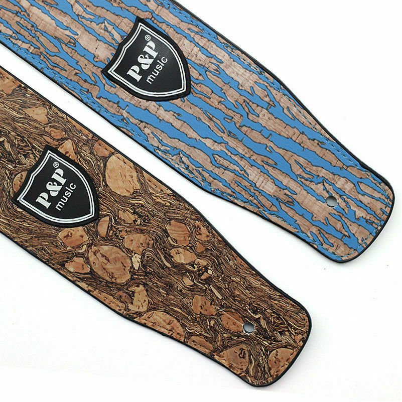 Guitar-Strap-Leather-PU-Plastic-Adjustable-Acoustic-Electric-Bass-Skin-Sparkle thumbnail 18
