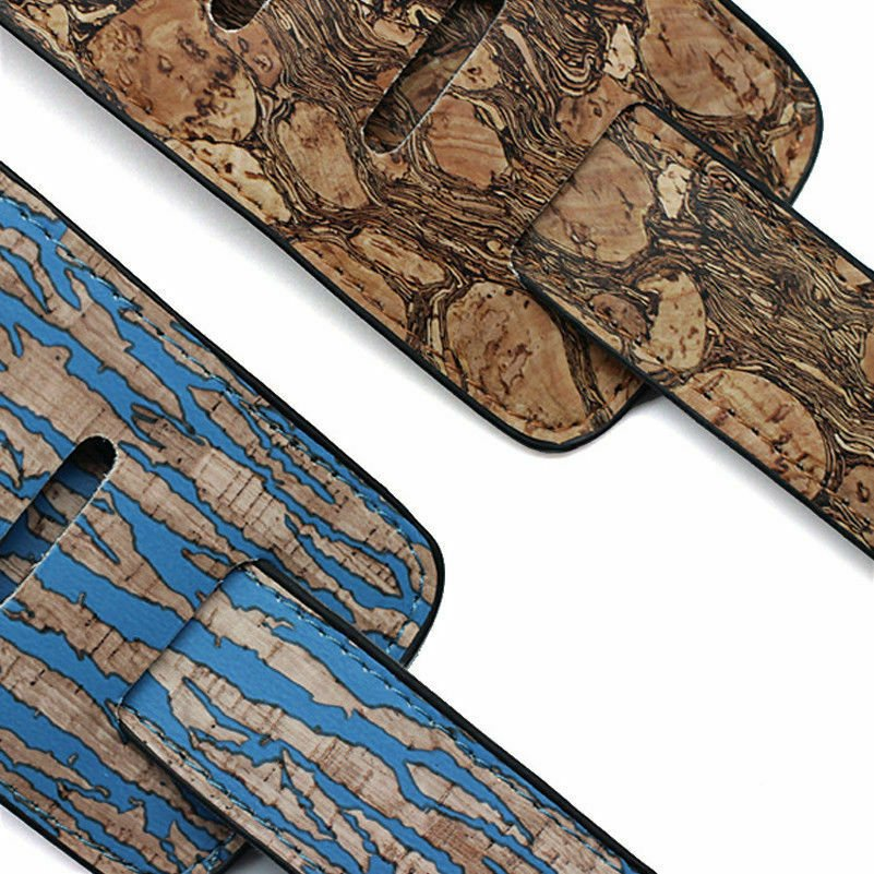 Guitar-Strap-Leather-PU-Plastic-Adjustable-Acoustic-Electric-Bass-Skin-Sparkle thumbnail 39