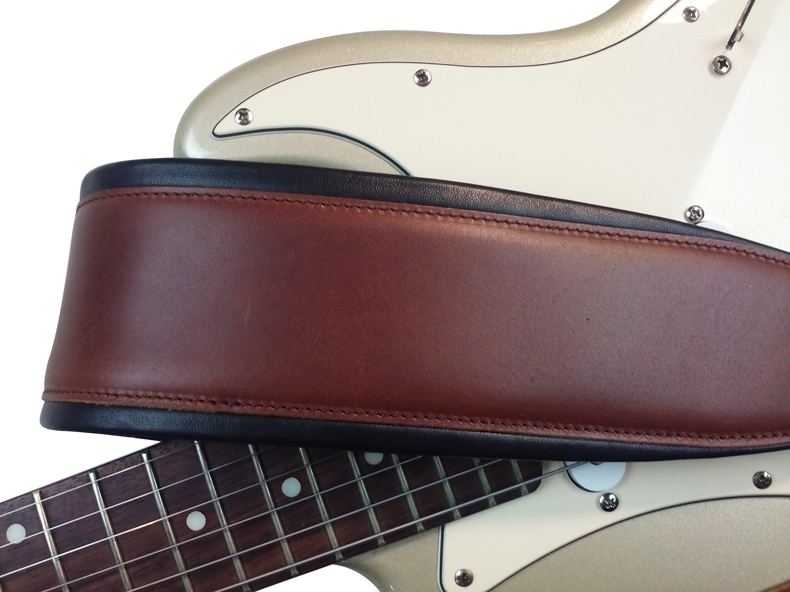 miniature 12 - Bracelet-en-cuir-Acoustic-Guitare-electrique-basse-roule-Bords