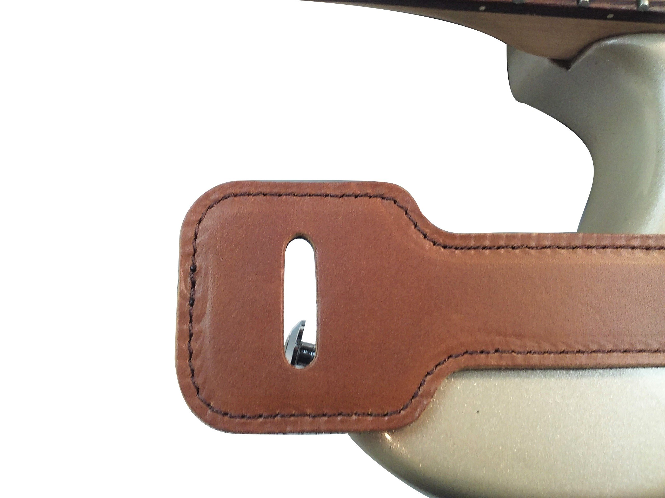 Quality-Leather-2-5-and-3-034-Wide-Acoustic-Electric-Guitar-Bass-Strap-Thick-Padded miniature 22