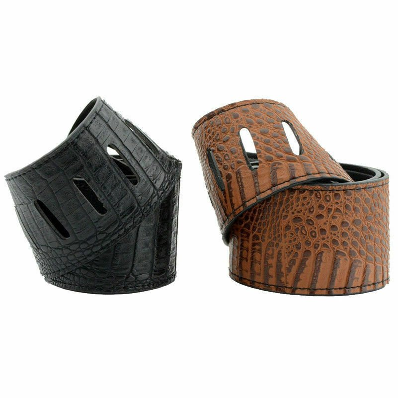 Guitar-Strap-Leather-PU-Plastic-Adjustable-Acoustic-Electric-Bass-Skin-Sparkle thumbnail 25