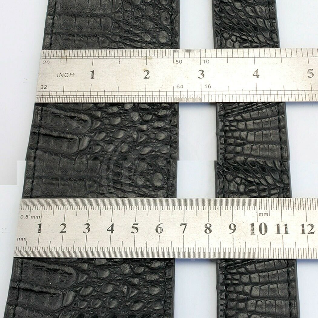 Guitar-Strap-Leather-PU-Plastic-Adjustable-Acoustic-Electric-Bass-Skin-Sparkle thumbnail 6