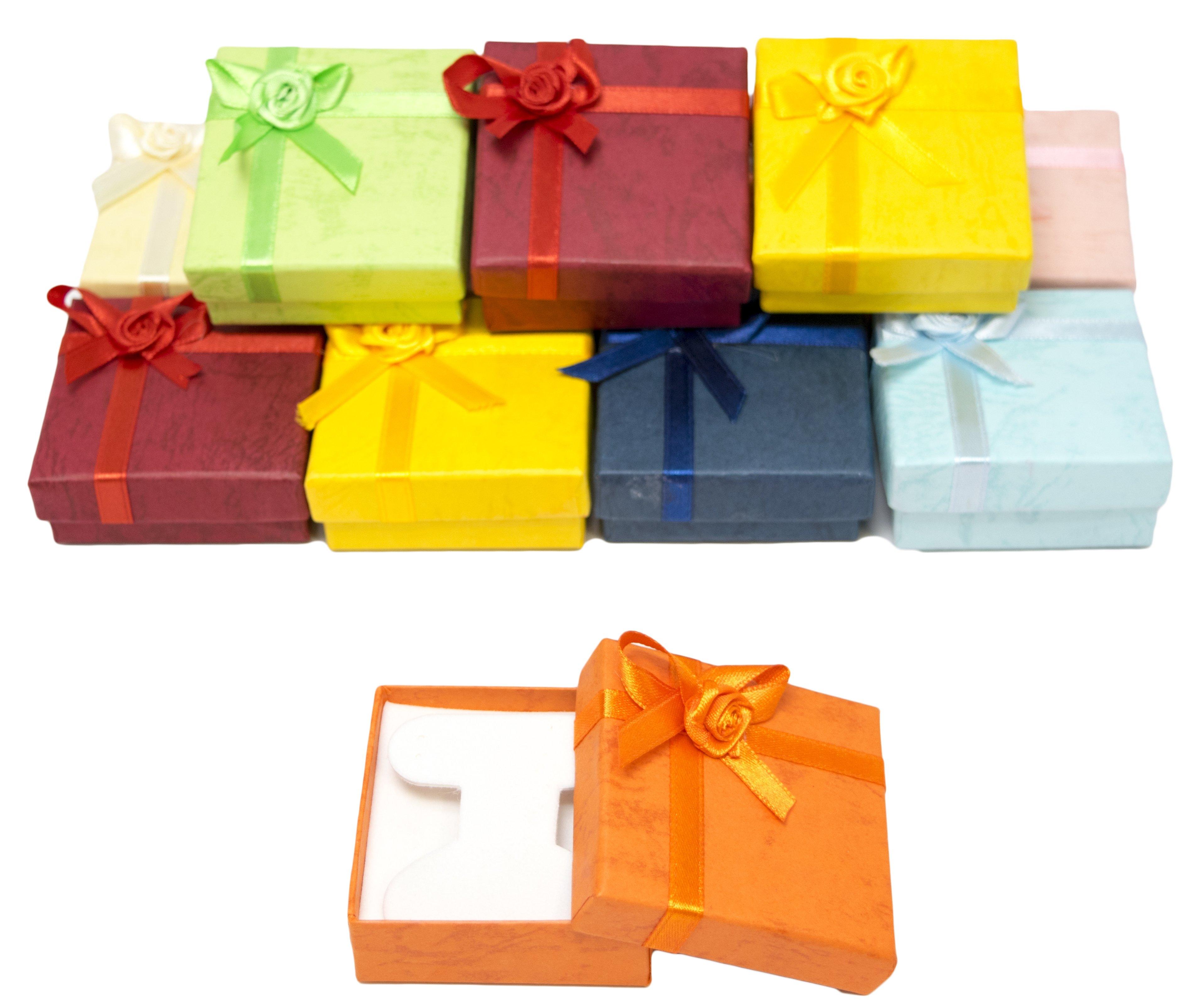 novel box cardboard jewelry gift boxes with rosebug bows. Black Bedroom Furniture Sets. Home Design Ideas