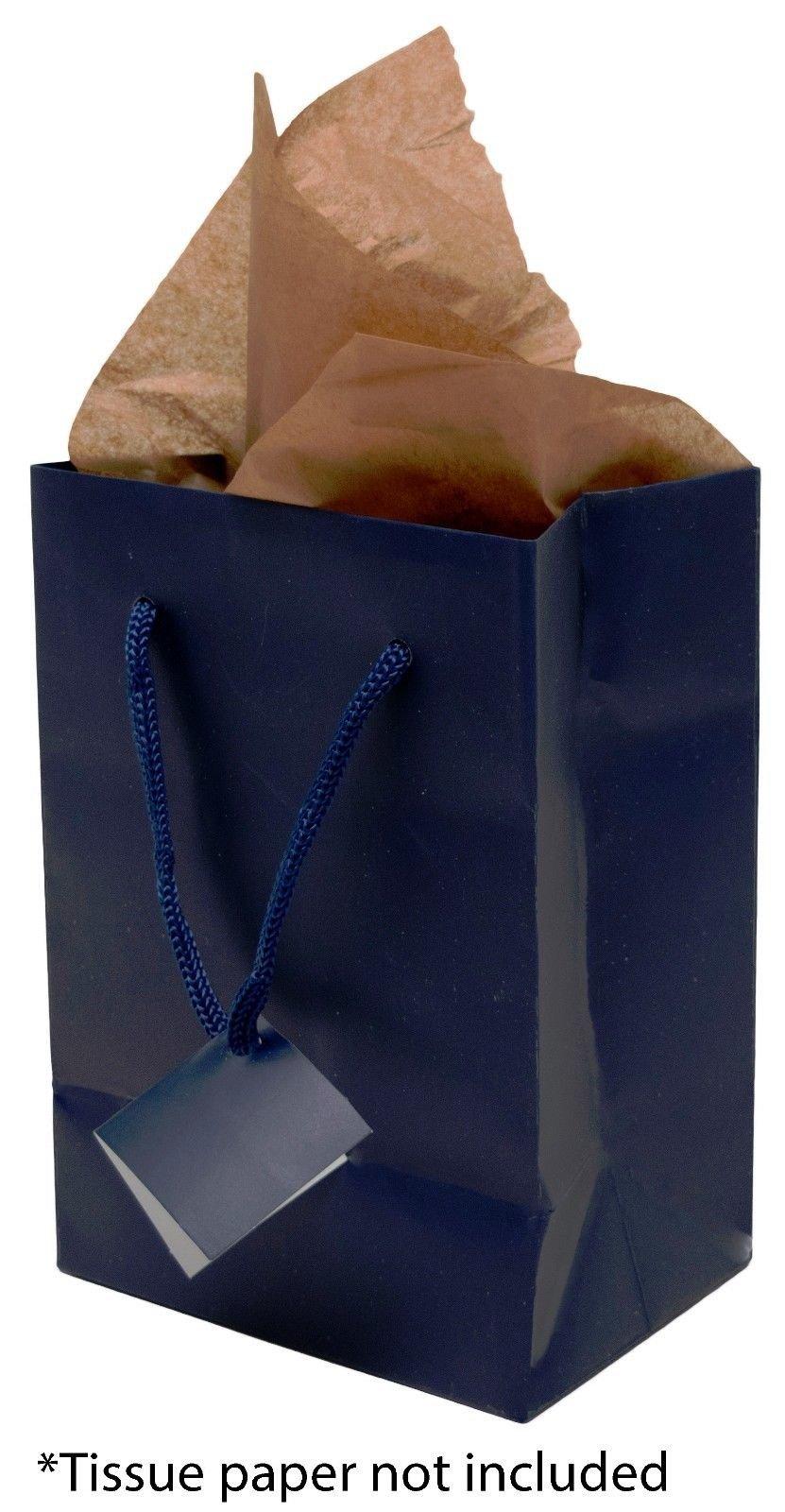 Novel Box Matte Laminated Euro Tote Paper Gift Shopping