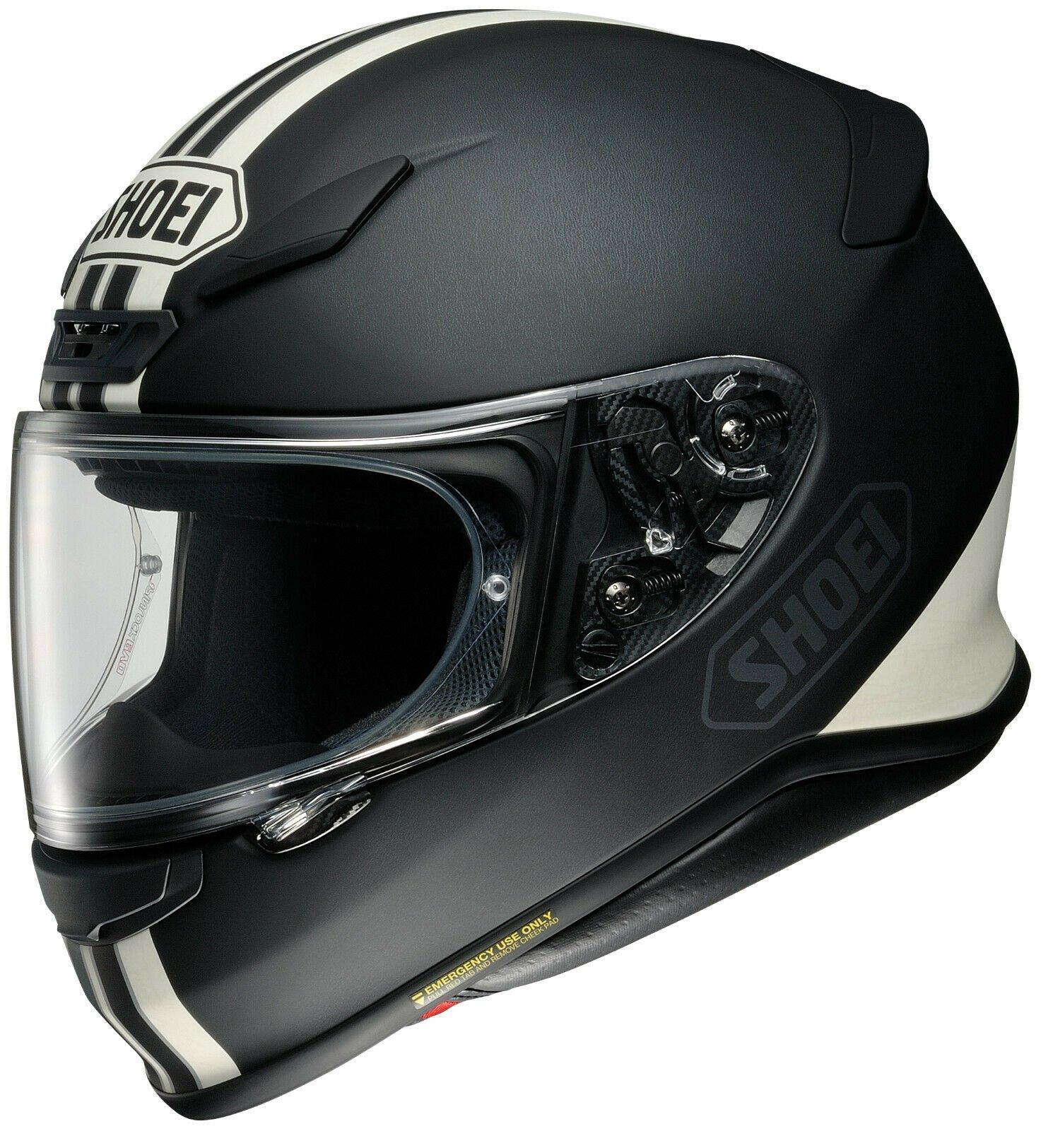 SHOEI-RF-1200-EQUATE-Helmet-ALL-SIZES-DOT-SNELL-Street-Full-Face-Patriotic miniature 8