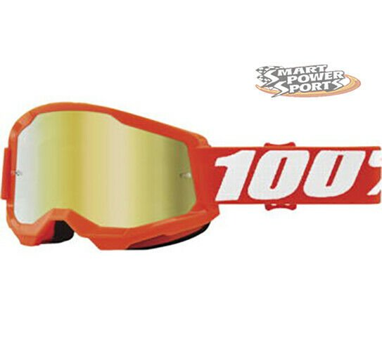 thumbnail 19 - 100% STRATA 2 Goggles -ALL COLORS- Offroad MX MTB Moto - CLEAR OR MIRROR LENS
