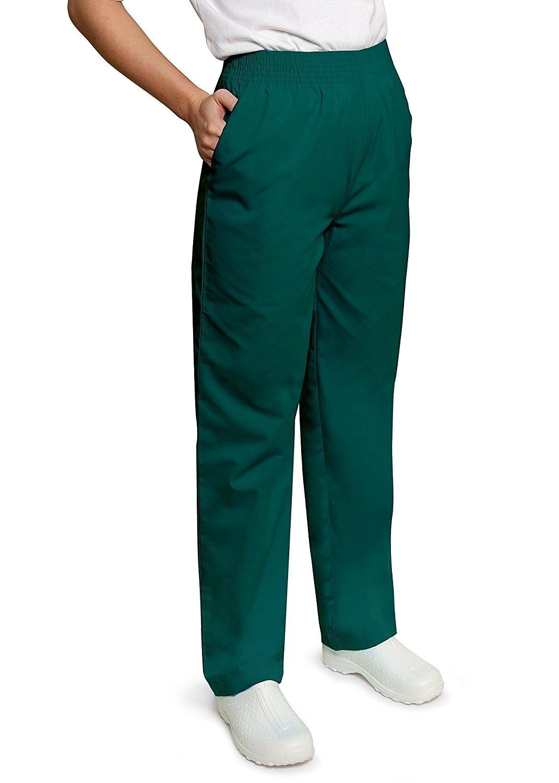 Adar Universal Classic Comfort Natural-Rise Tapered Leg Scrub Pant