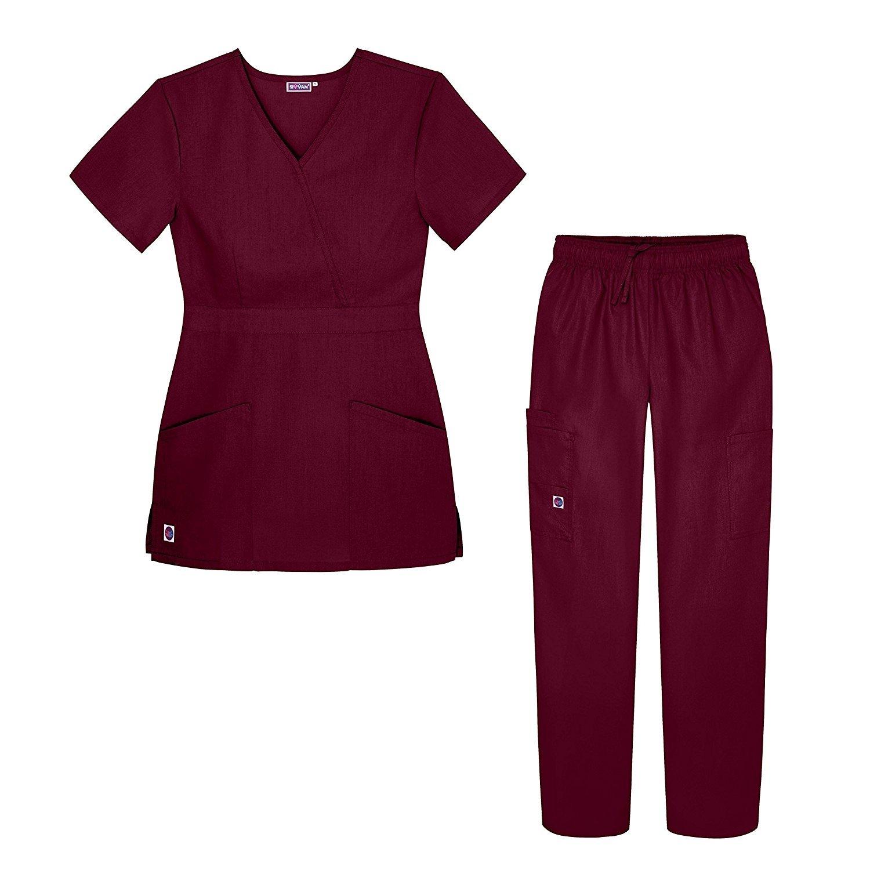 Комплекты униформы Sivvan Women S Scrub Set Multi Pocket