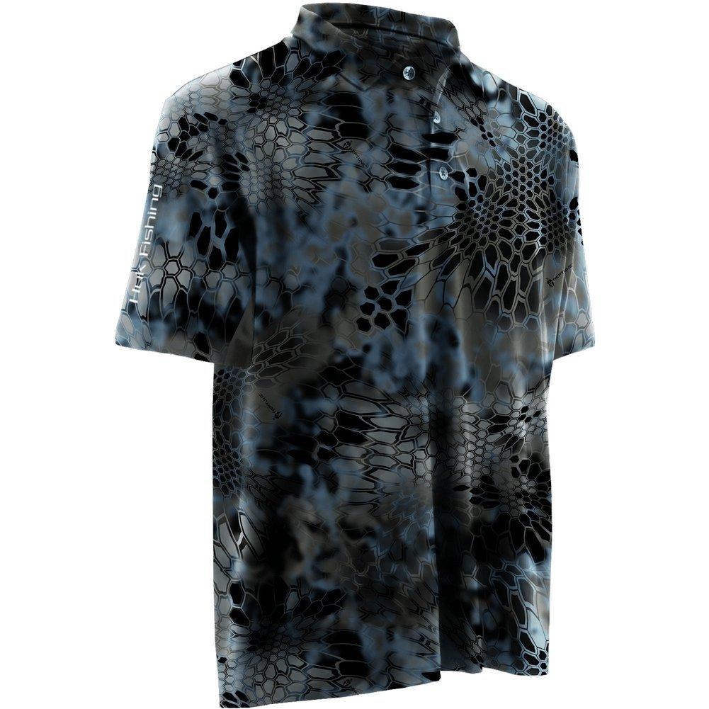 Huk Performance Fishing Black Icon Shirt Sz L NEW NWT