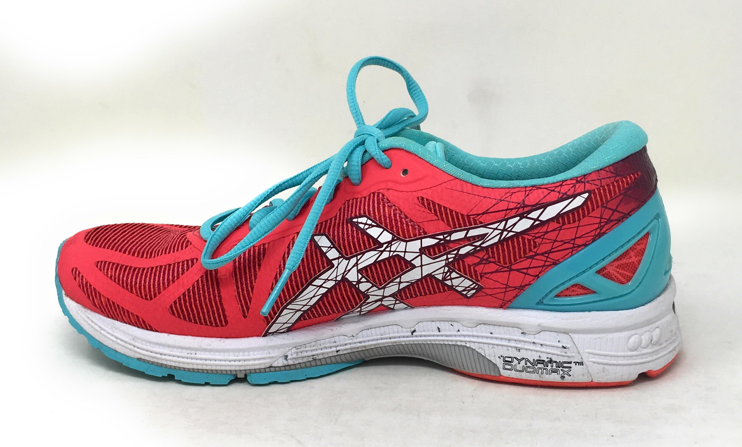 Details about ASICS WOMENS 8 M ASICS GEL DS TRAINER 21 RUNNING SHOES DIVA PINK WHITE TURQUOISE