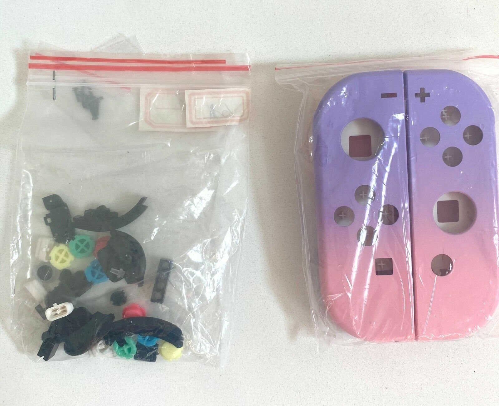 Joy-Con-Housing-Shell-for-Nintendo-Switch-Joycon-Replacement-Buttons-Left-Right miniature 36