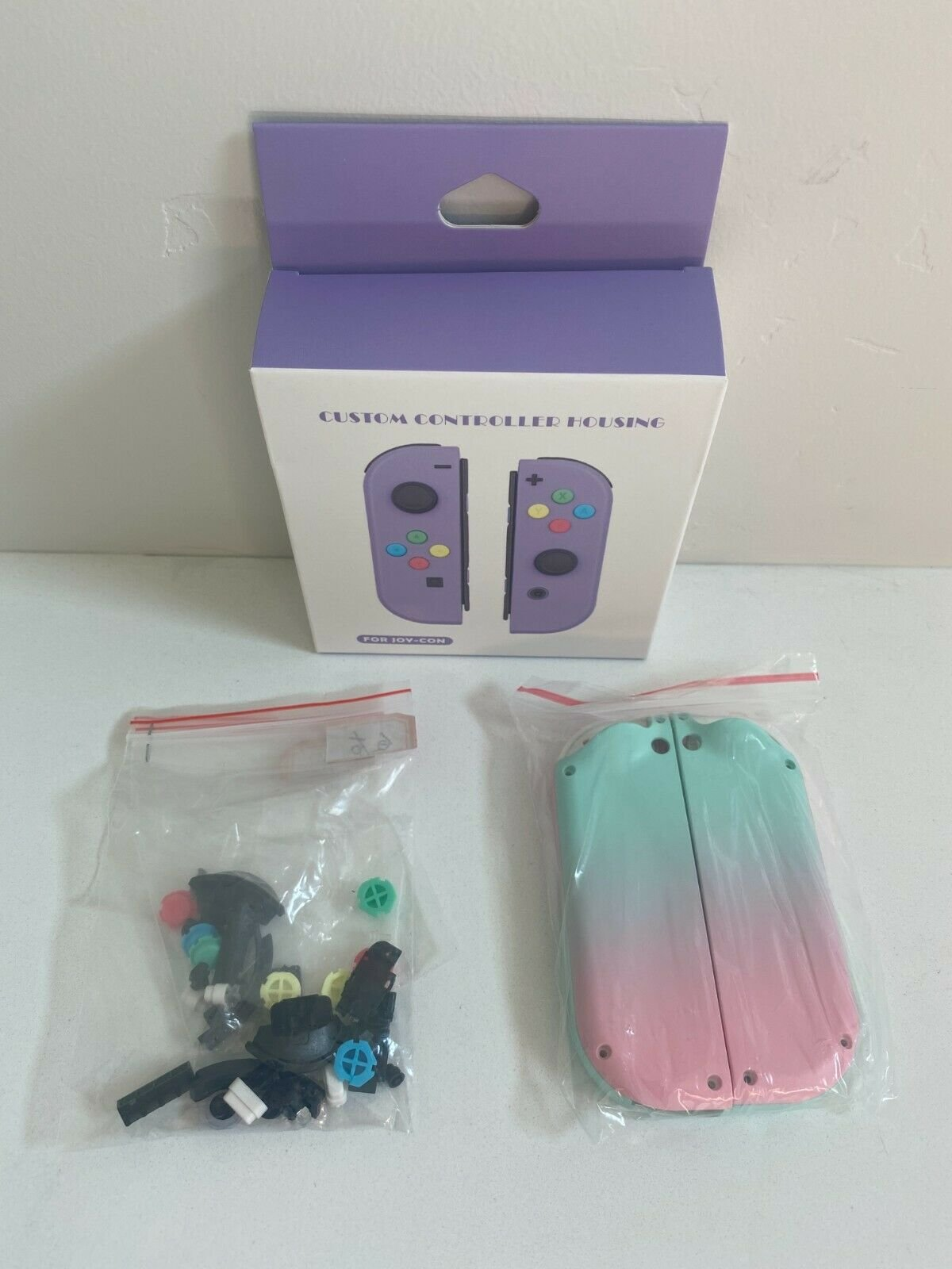 Joy-Con-Housing-Shell-for-Nintendo-Switch-Joycon-Replacement-Buttons-Left-Right miniature 31