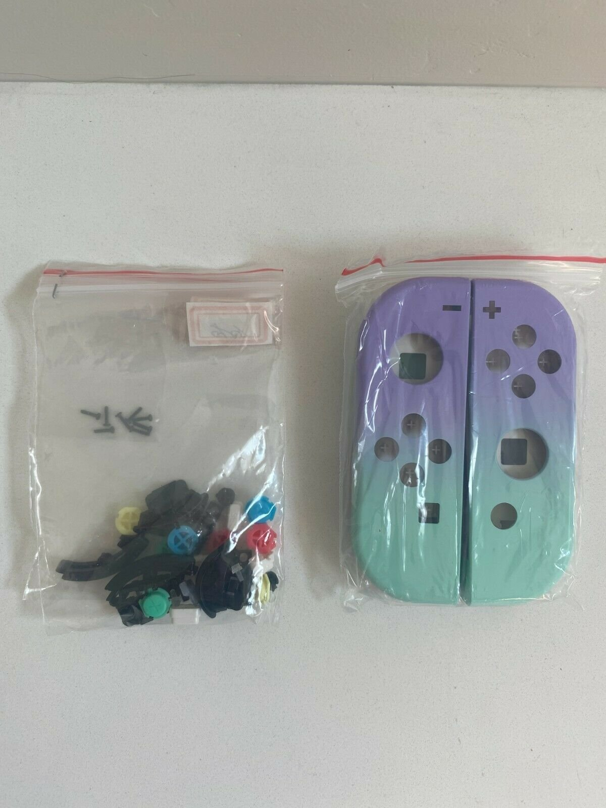 Joy-Con-Housing-Shell-for-Nintendo-Switch-Joycon-Replacement-Buttons-Left-Right miniature 34