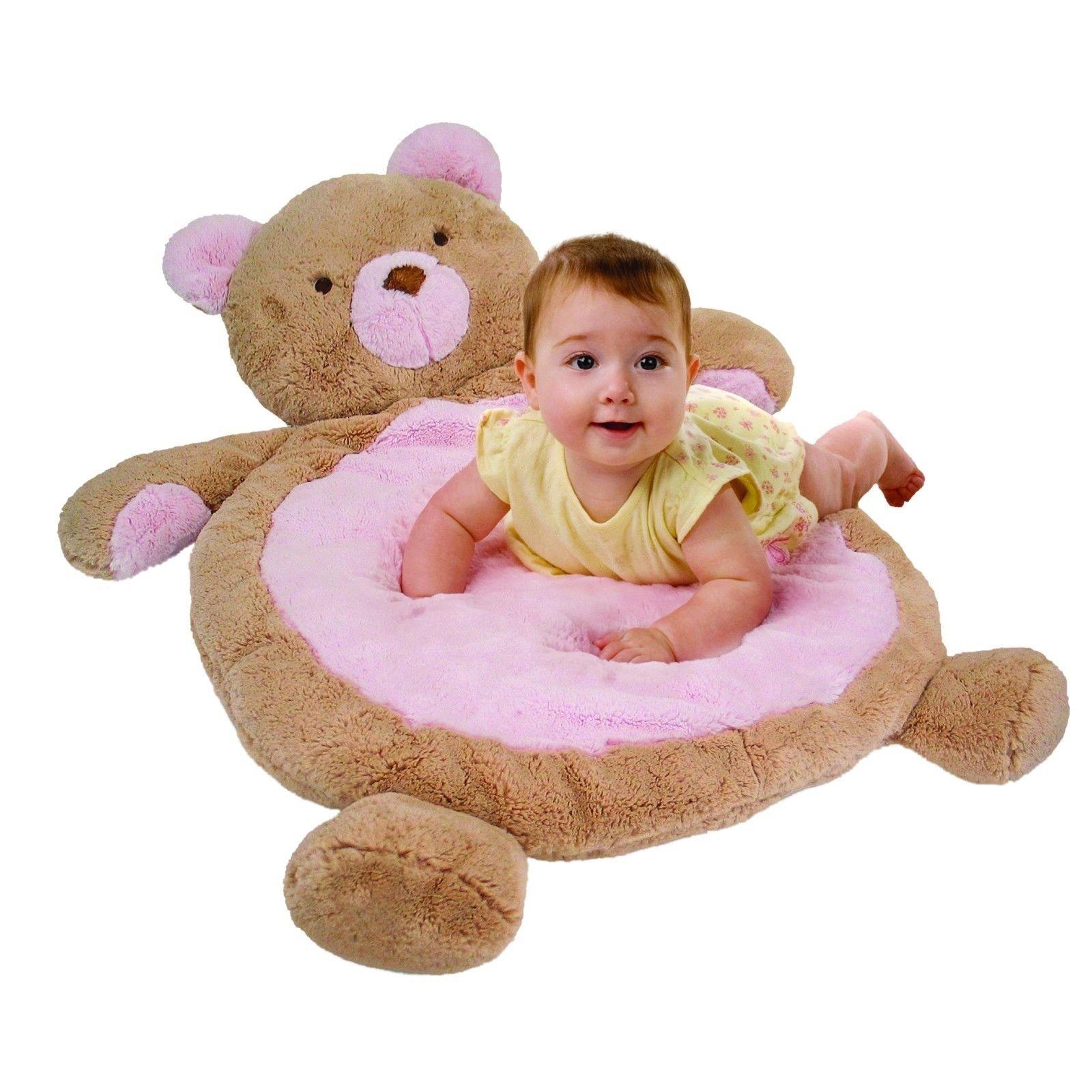 mary meyer bestever baby play mat soft plush ebay. Black Bedroom Furniture Sets. Home Design Ideas