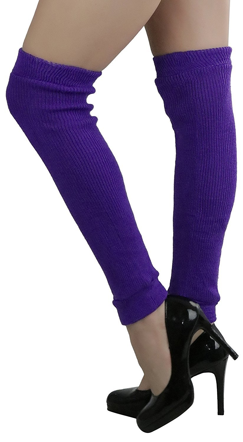 afe64a66f18 Details about ToBeInStyle Women s Sexy Soft Knit Thick Knee High long Leg  Warmers