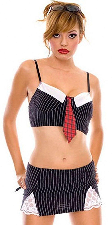 Naughty secretary lingerie