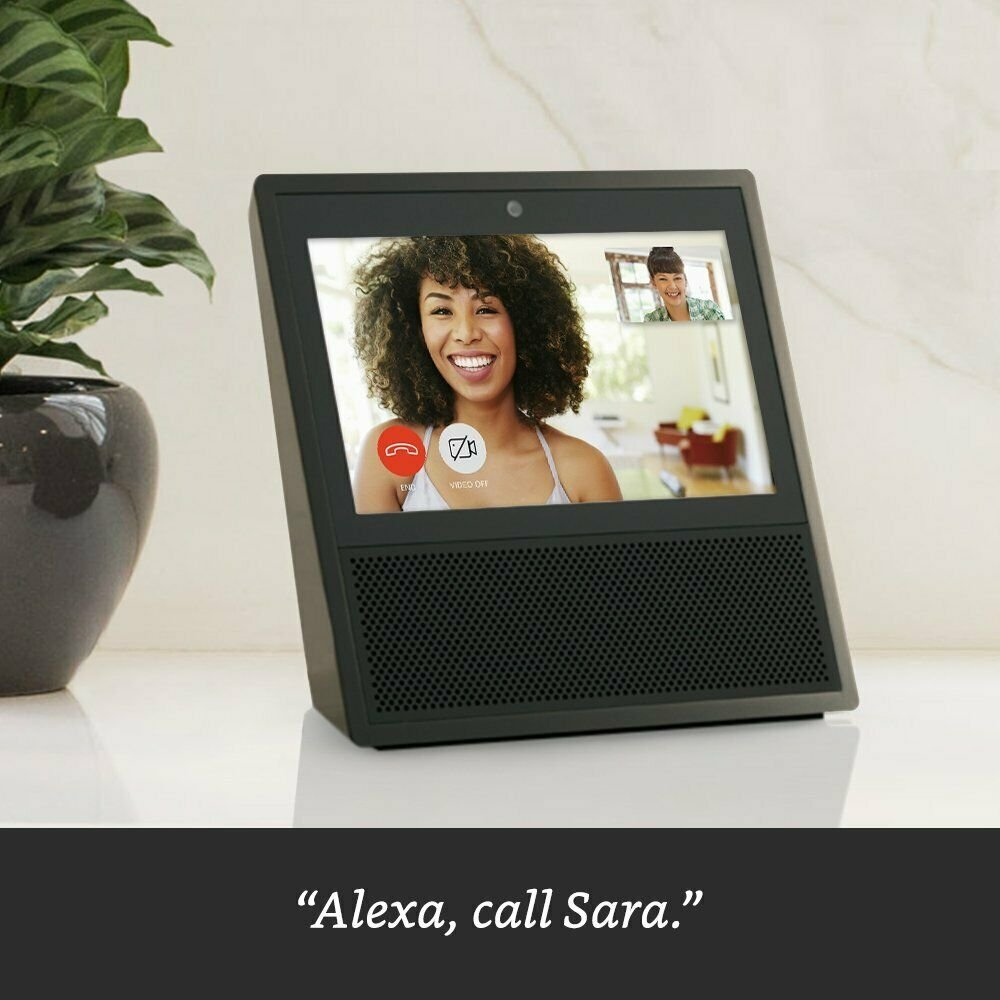 NEW-Amazon-Echo-Show-Video-Smart-Speaker-with-Alexa-Assistant-1st-Gen thumbnail 5