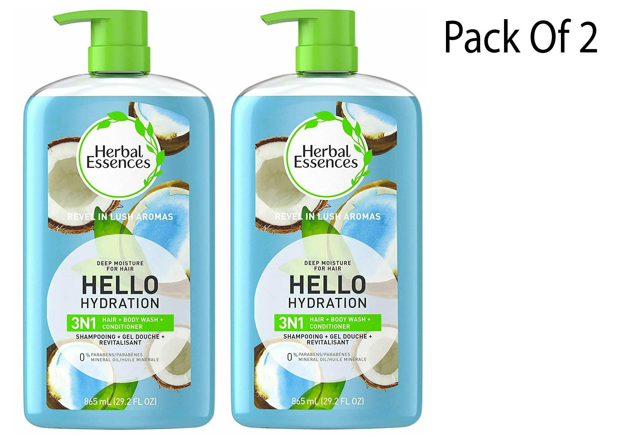Herbal Essences 3 in1 shampoo, conditioner body wash 29.2 fl