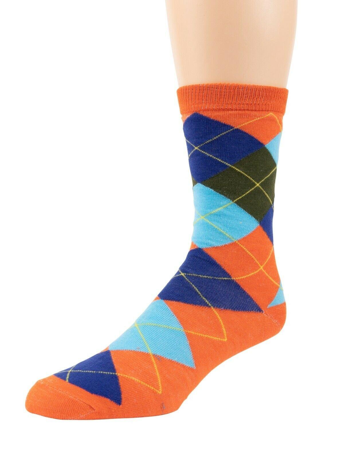 Mitch-Bogen-Mens-Cotton-Dress-Socks-Colorful-Fashion-Crew-Socks-8-Pack-Gift-Box thumbnail 50
