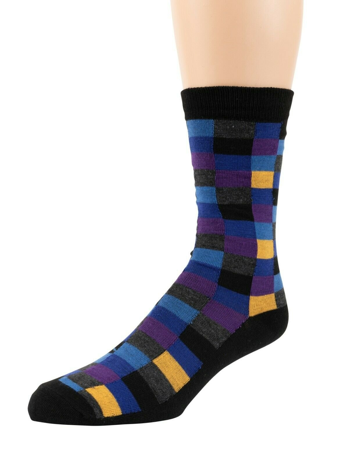 Mitch-Bogen-Mens-Cotton-Dress-Socks-Colorful-Fashion-Crew-Socks-8-Pack-Gift-Box thumbnail 31