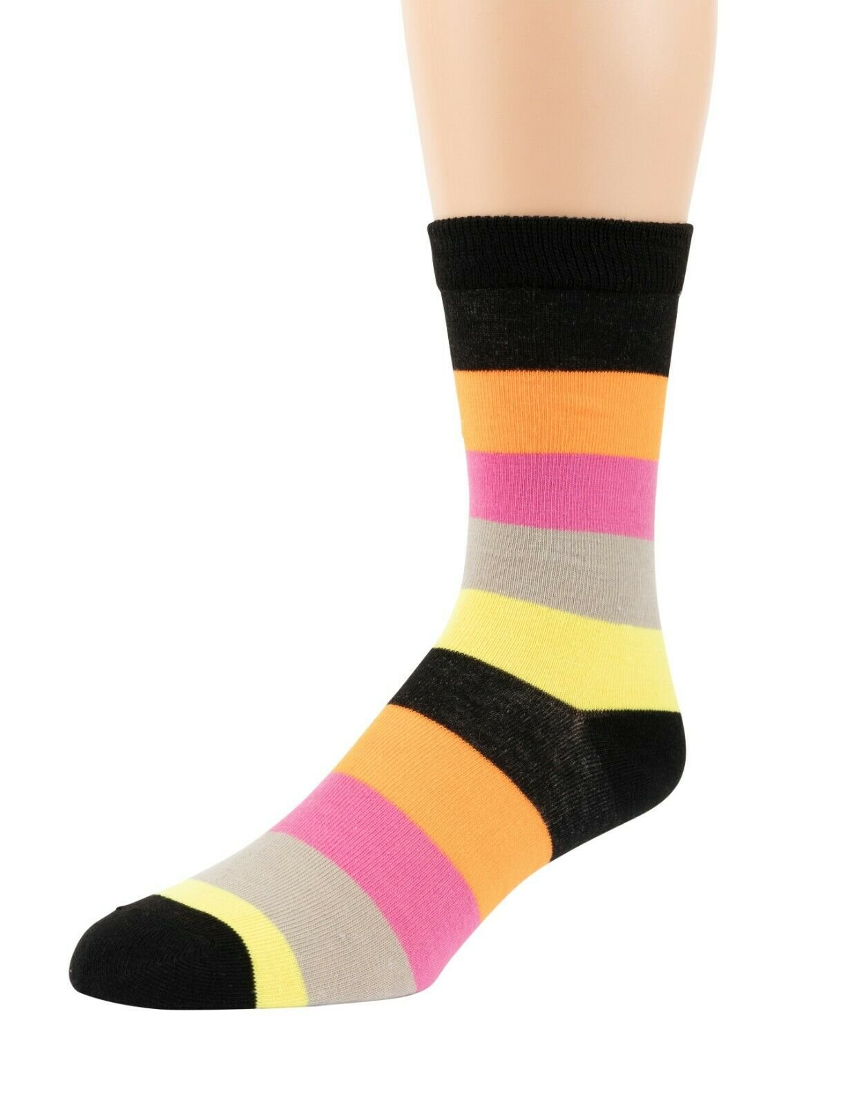 Mitch-Bogen-Mens-Cotton-Dress-Socks-Colorful-Fashion-Crew-Socks-8-Pack-Gift-Box thumbnail 19
