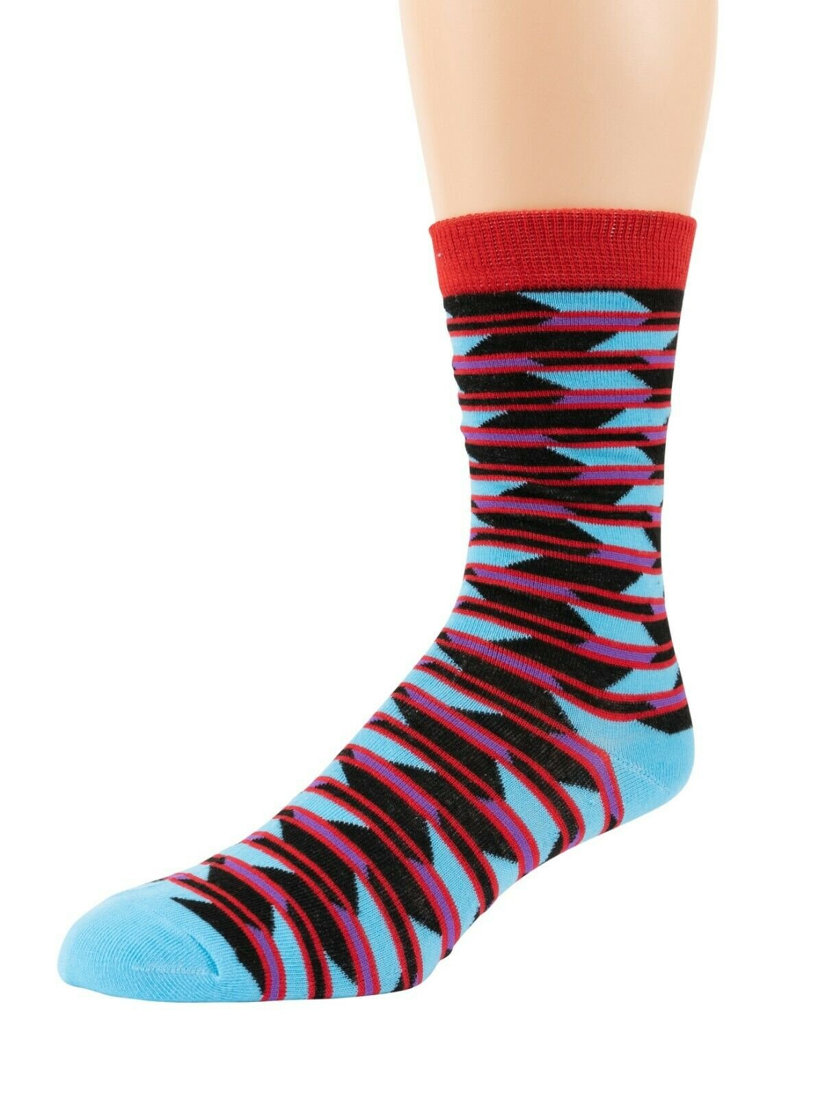 Mitch-Bogen-Mens-Cotton-Dress-Socks-Colorful-Fashion-Crew-Socks-8-Pack-Gift-Box thumbnail 42
