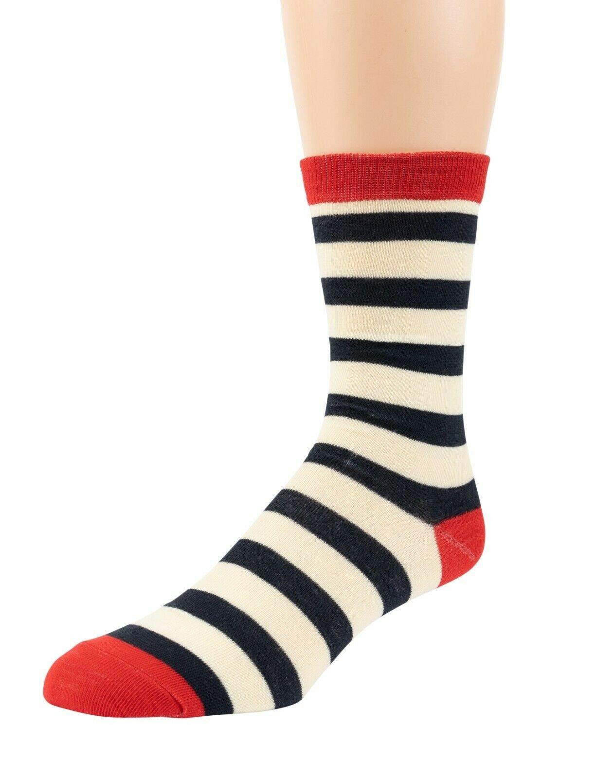Mitch-Bogen-Mens-Cotton-Dress-Socks-Colorful-Fashion-Crew-Socks-8-Pack-Gift-Box thumbnail 45