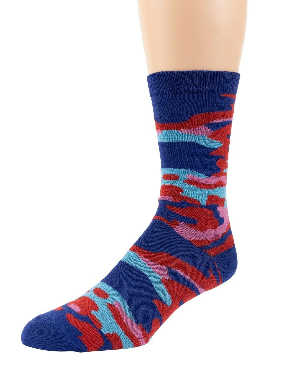 Mitch-Bogen-Mens-Cotton-Dress-Socks-Colorful-Fashion-Crew-Socks-8-Pack-Gift-Box thumbnail 55