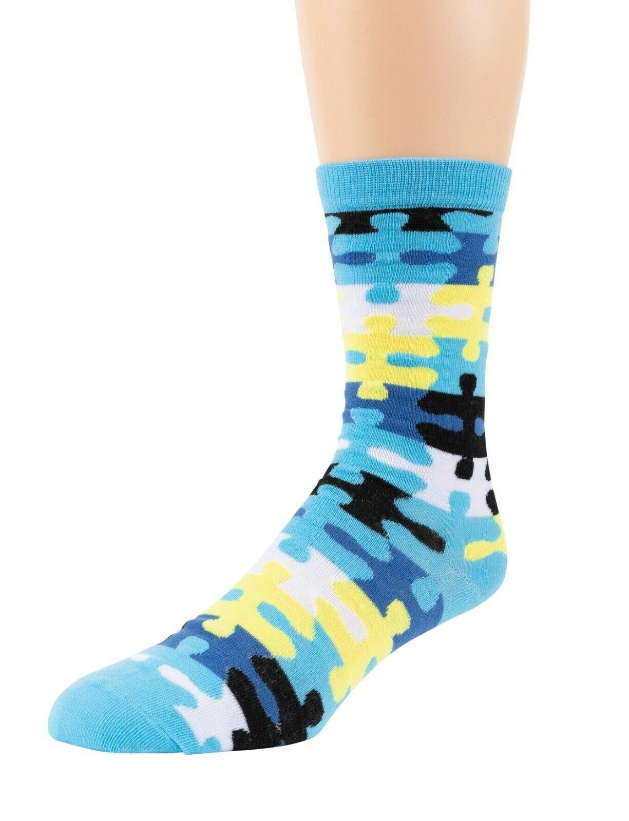 Mitch-Bogen-Mens-Cotton-Dress-Socks-Colorful-Fashion-Crew-Socks-8-Pack-Gift-Box thumbnail 16