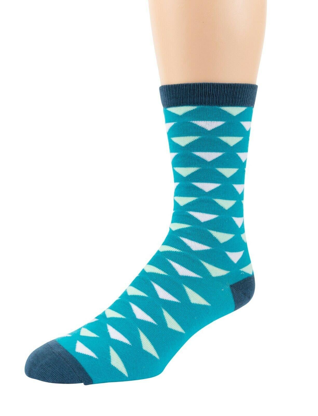 Mitch-Bogen-Mens-Cotton-Dress-Socks-Colorful-Fashion-Crew-Socks-8-Pack-Gift-Box thumbnail 46