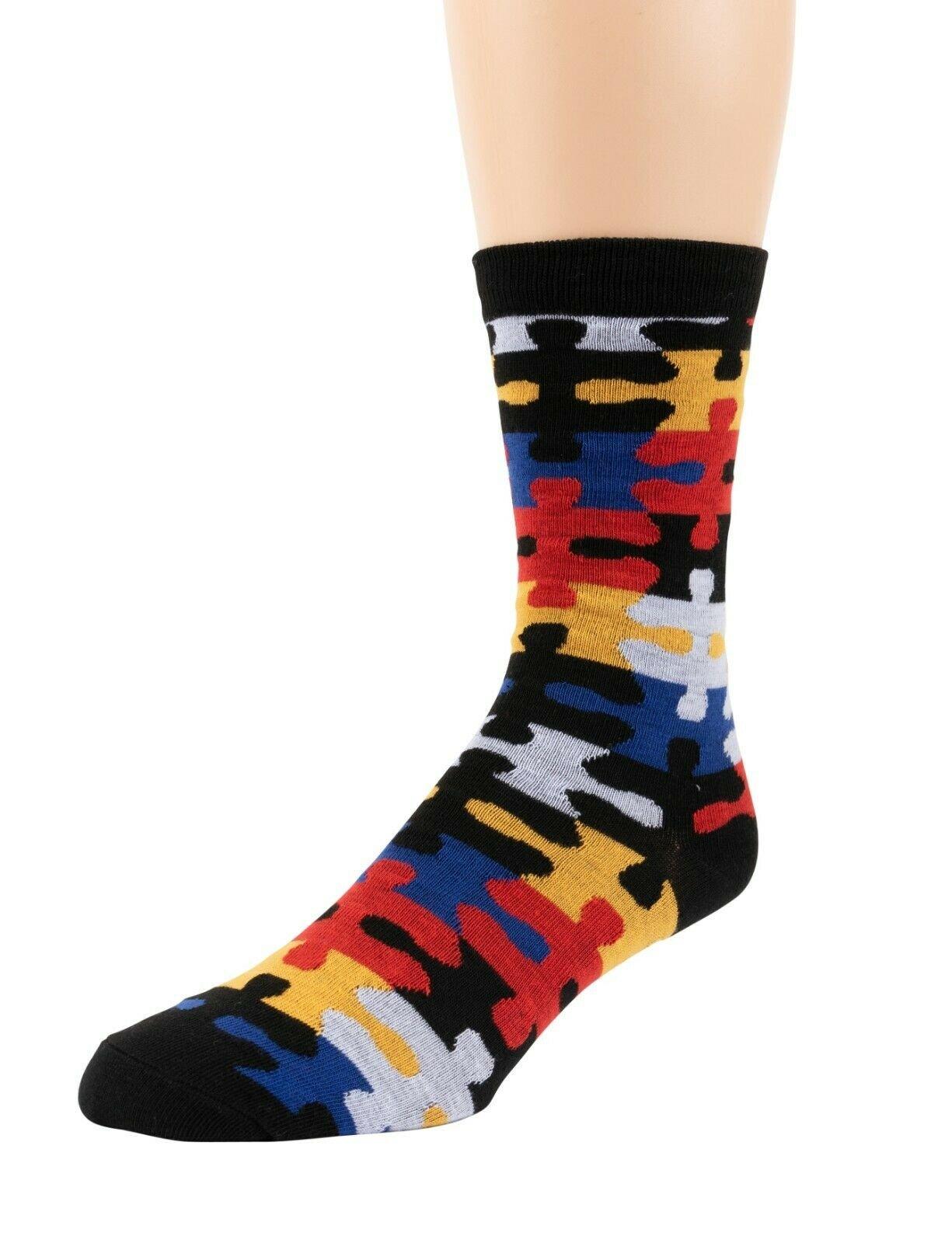 Mitch-Bogen-Mens-Cotton-Dress-Socks-Colorful-Fashion-Crew-Socks-8-Pack-Gift-Box thumbnail 61