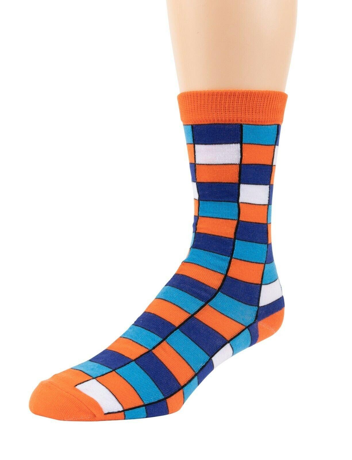 Mitch-Bogen-Mens-Cotton-Dress-Socks-Colorful-Fashion-Crew-Socks-8-Pack-Gift-Box thumbnail 52