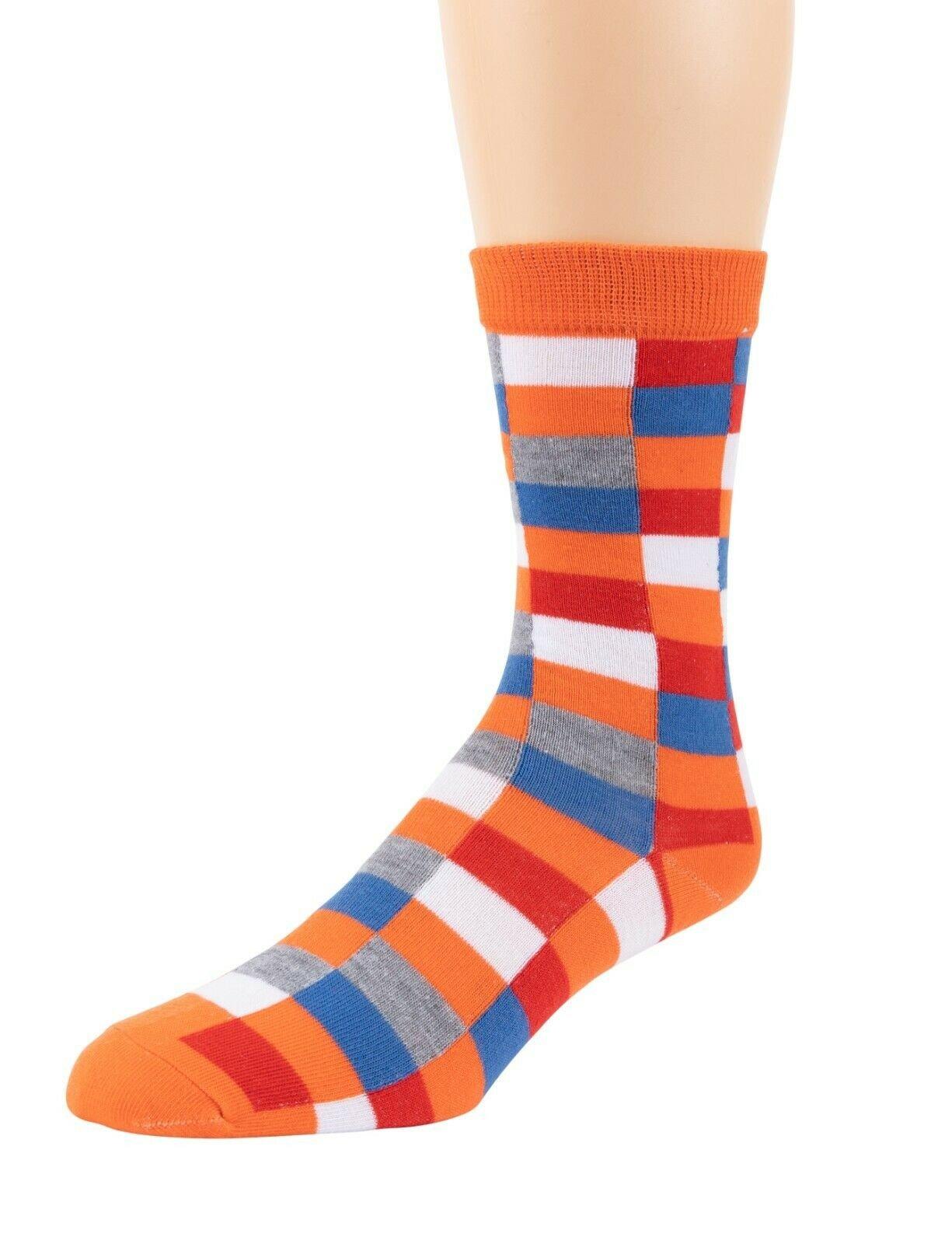 Mitch-Bogen-Mens-Cotton-Dress-Socks-Colorful-Fashion-Crew-Socks-8-Pack-Gift-Box thumbnail 23