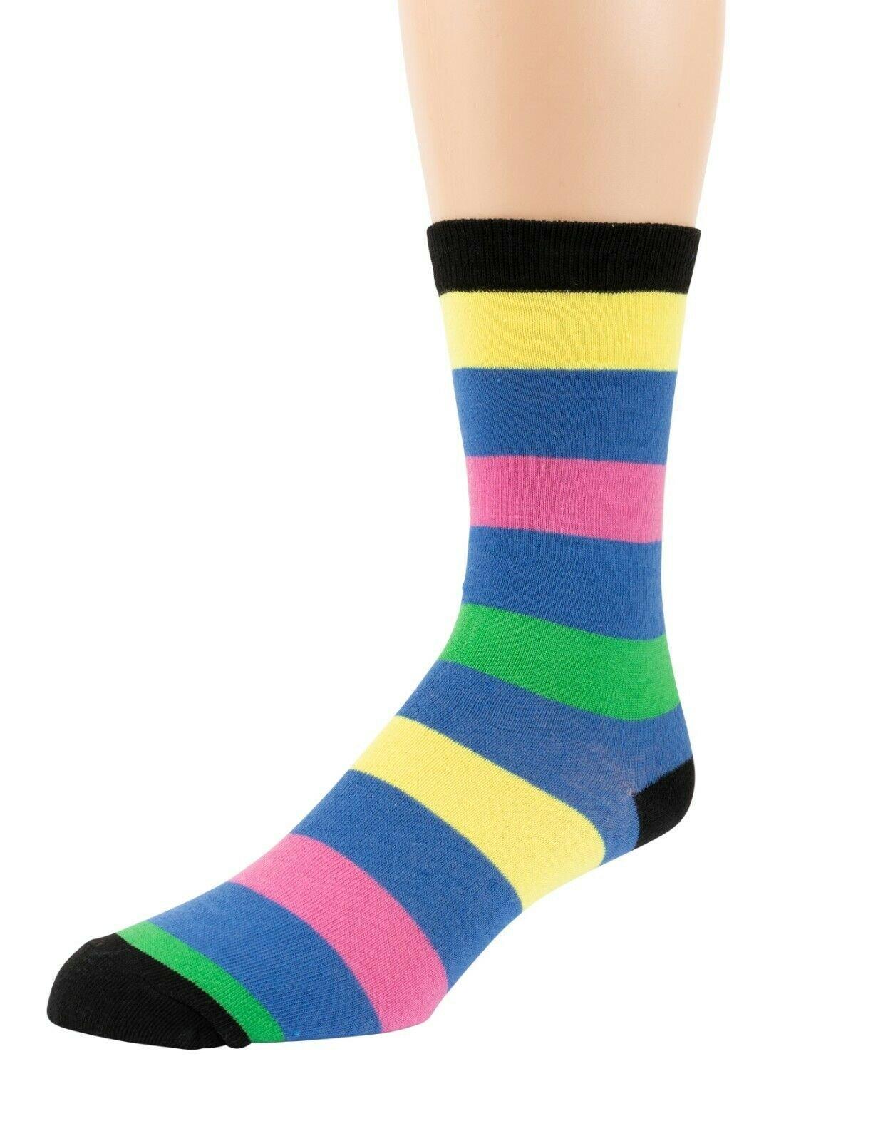 Mitch-Bogen-Mens-Cotton-Dress-Socks-Colorful-Fashion-Crew-Socks-8-Pack-Gift-Box thumbnail 43