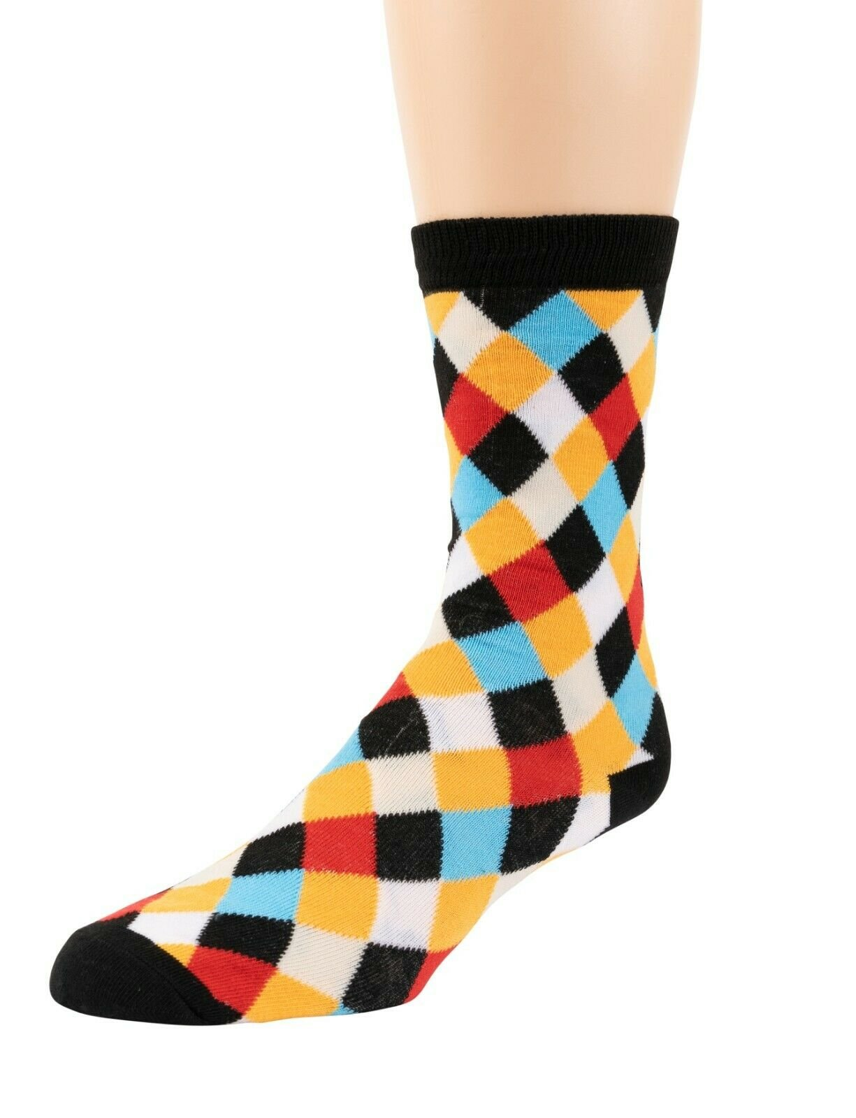 Mitch-Bogen-Mens-Cotton-Dress-Socks-Colorful-Fashion-Crew-Socks-8-Pack-Gift-Box thumbnail 22
