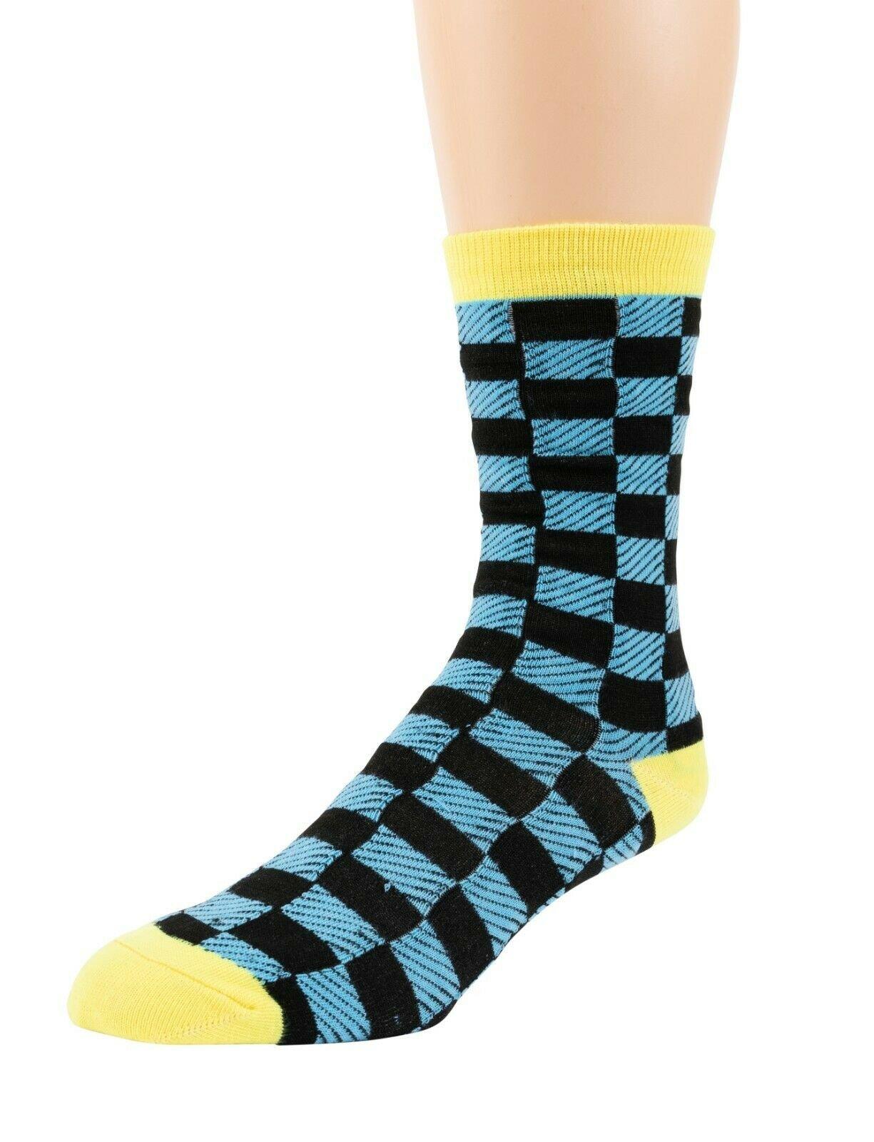 Mitch-Bogen-Mens-Cotton-Dress-Socks-Colorful-Fashion-Crew-Socks-8-Pack-Gift-Box thumbnail 62
