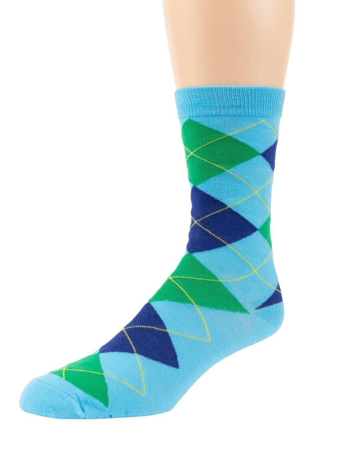 Mitch-Bogen-Mens-Cotton-Dress-Socks-Colorful-Fashion-Crew-Socks-8-Pack-Gift-Box thumbnail 44