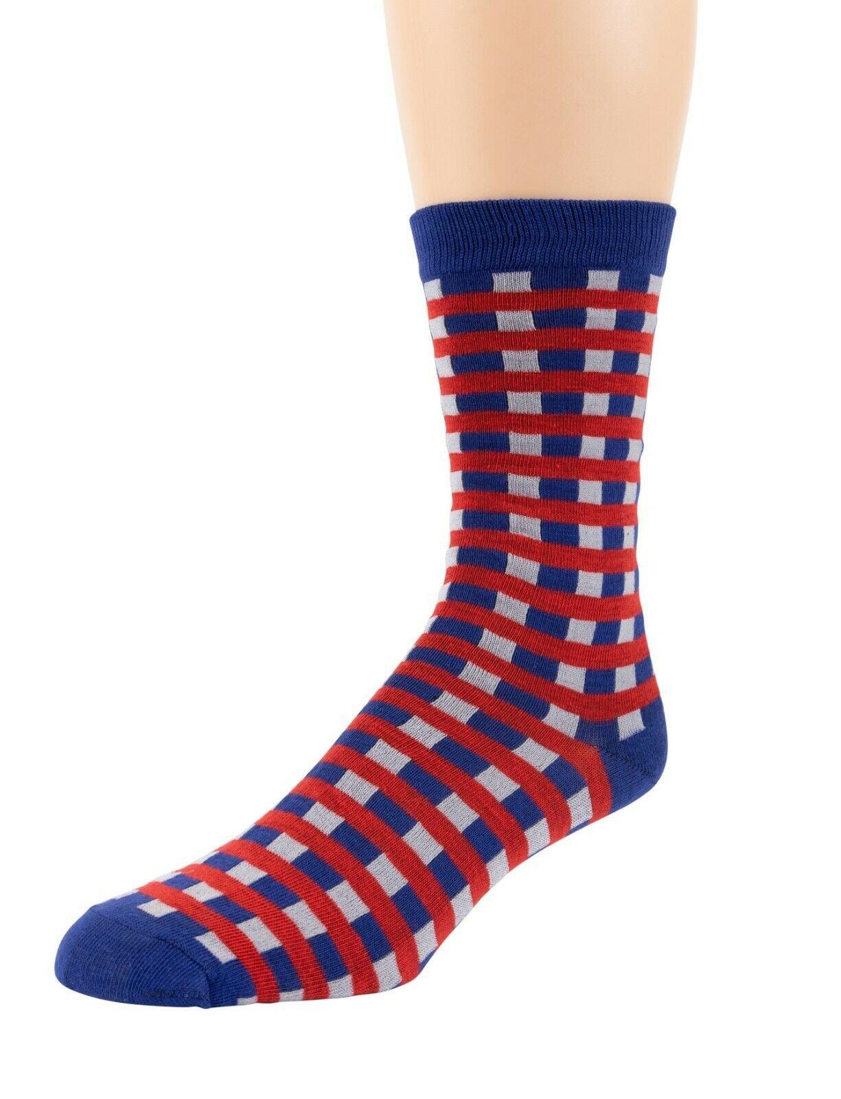 Mitch-Bogen-Mens-Cotton-Dress-Socks-Colorful-Fashion-Crew-Socks-8-Pack-Gift-Box thumbnail 33