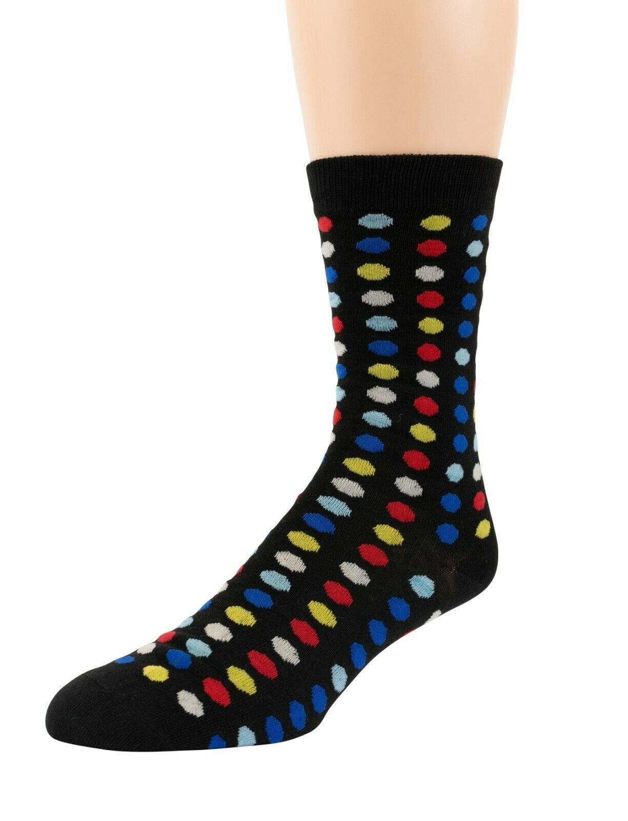 Mitch-Bogen-Mens-Cotton-Dress-Socks-Colorful-Fashion-Crew-Socks-8-Pack-Gift-Box thumbnail 64