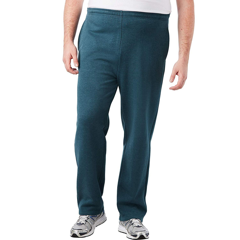 KingSize-Men-039-s-Big-amp-Tall-Fleece-Open-Bottom-Sweatpants thumbnail 20