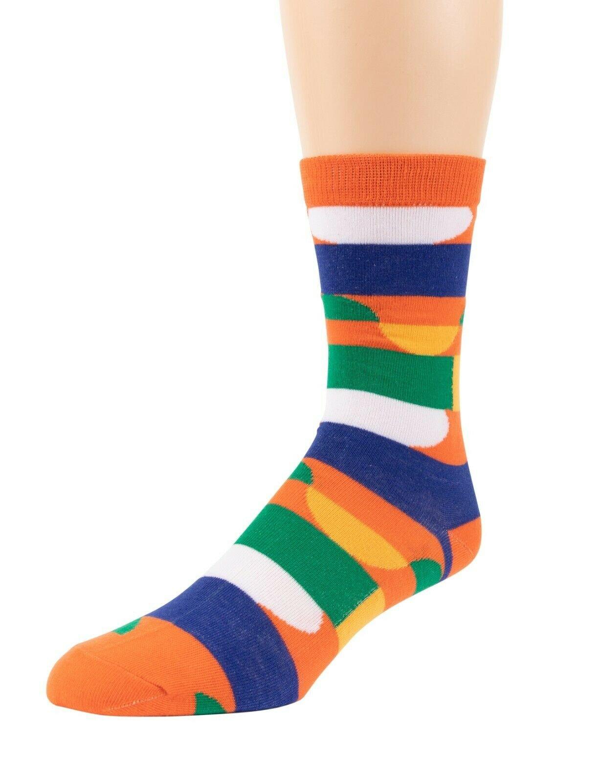 Mitch-Bogen-Mens-Cotton-Dress-Socks-Colorful-Fashion-Crew-Socks-8-Pack-Gift-Box thumbnail 21