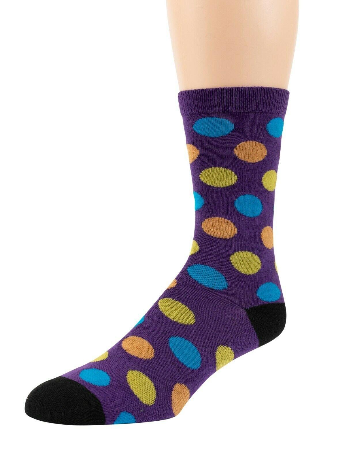 Mitch-Bogen-Mens-Cotton-Dress-Socks-Colorful-Fashion-Crew-Socks-8-Pack-Gift-Box thumbnail 15