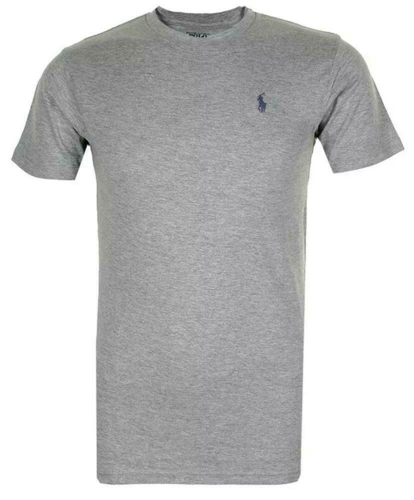 Polo-Ralph-Lauren-Men-039-s-T-Shirt-Crew-Neck-Slim-Fit-Short-Sleeve-Logo-Tee-Shirt miniatura 13