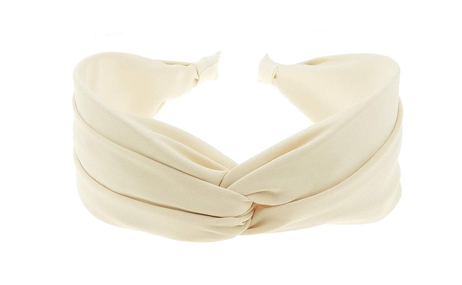 CRINKLED LEATHER LOOK FABRIC COVERED 3cm WIDE ALICE HEAD BAND HEADBAND ALICEBAND