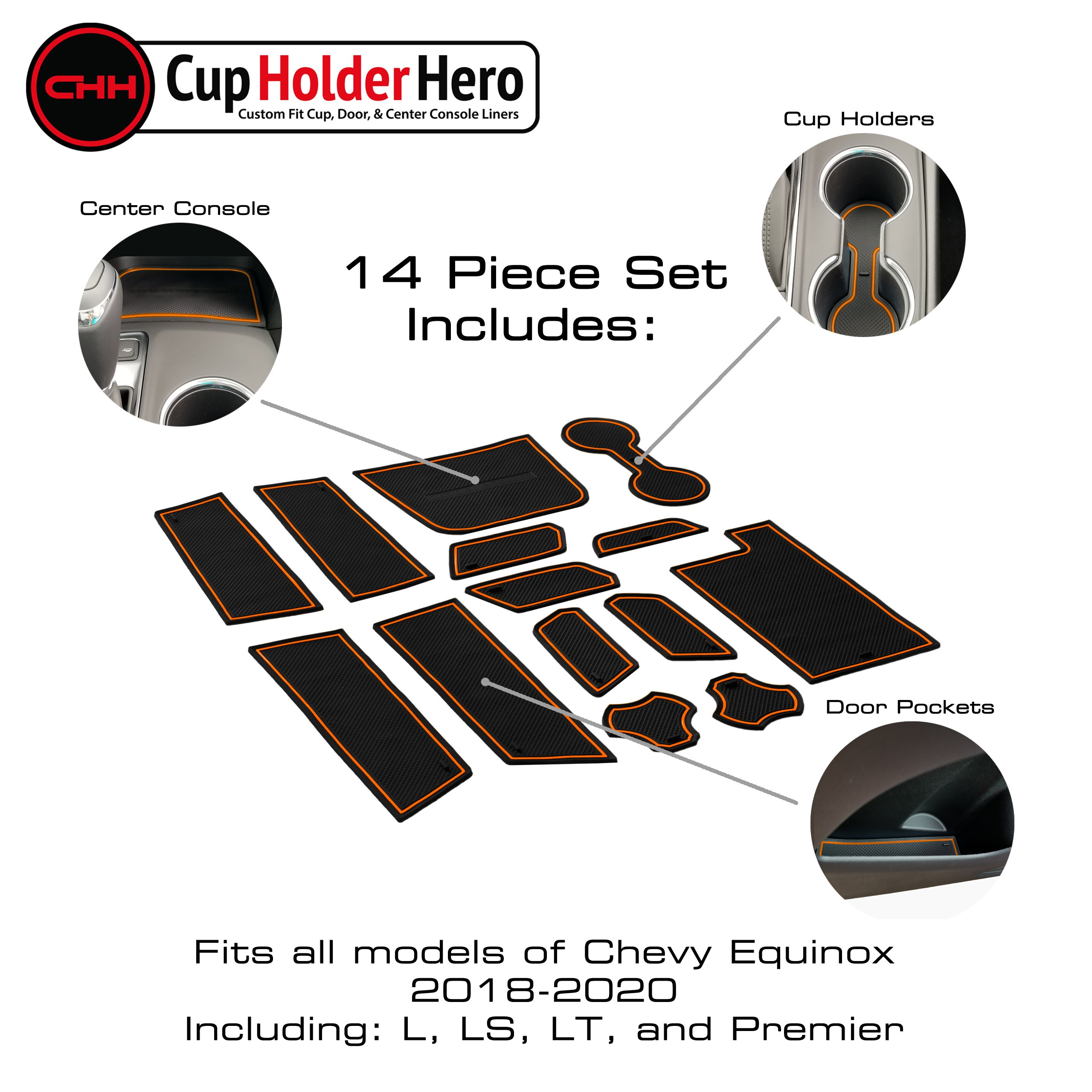 CupHolderHero-Chevy-Equinox-2018-2020-Liner-Accessories thumbnail 10