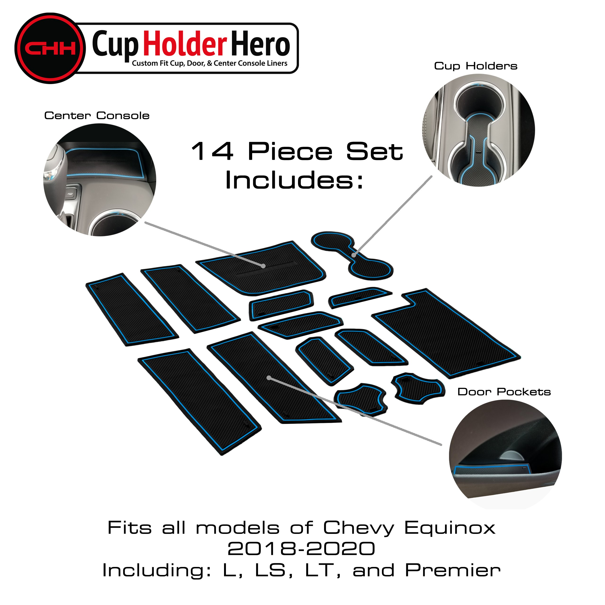 CupHolderHero-Chevy-Equinox-2018-2020-Liner-Accessories thumbnail 4