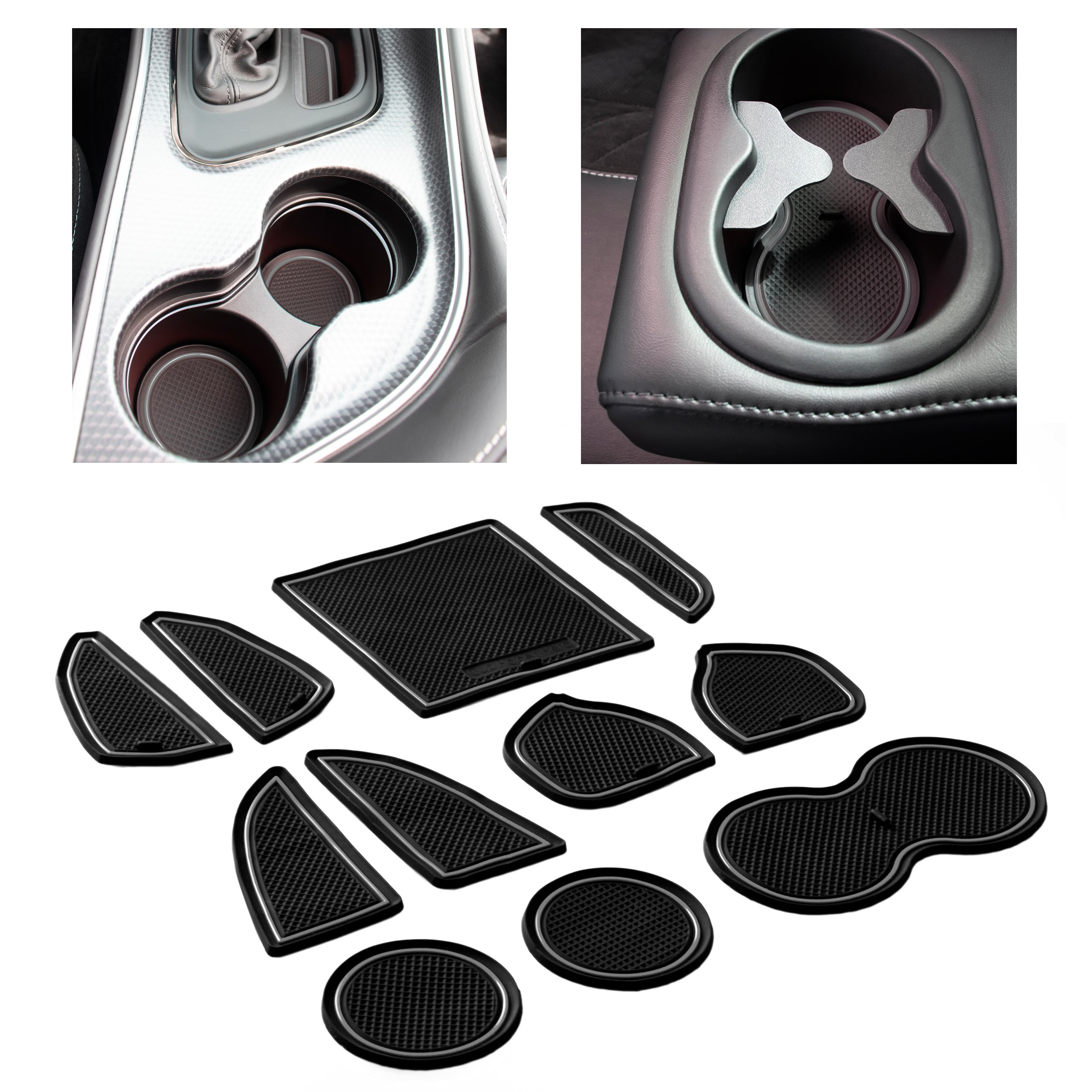 CupHolderHero-Dodge-Challenger-2015-2021-Liners-Accessories thumbnail 13