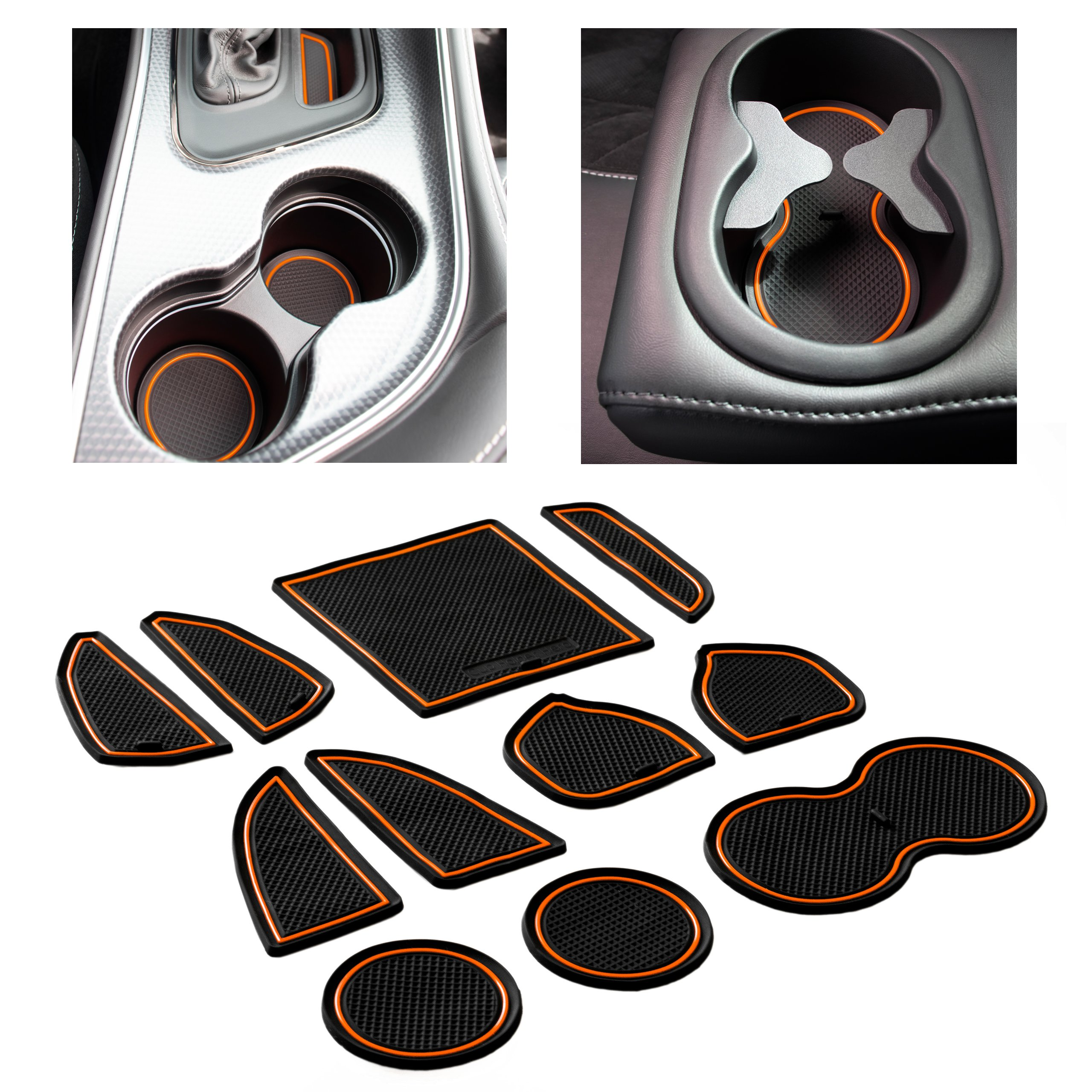 CupHolderHero-Dodge-Challenger-2015-2021-Liners-Accessories thumbnail 19