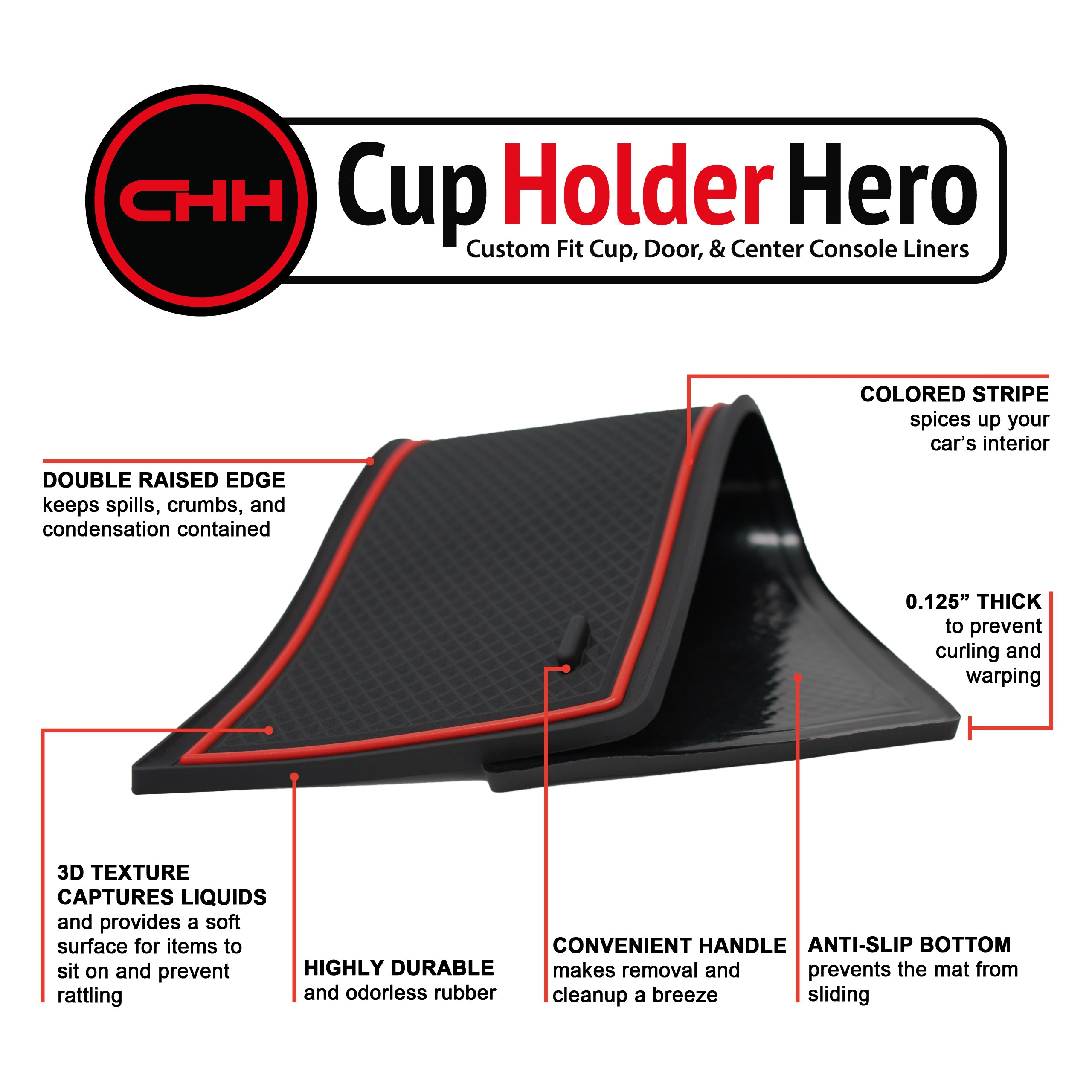 CupHolderHero-Chevy-Equinox-2018-2020-Liner-Accessories thumbnail 15