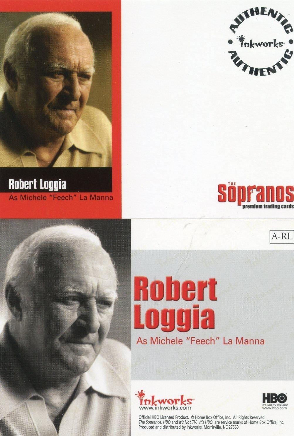 SOPRANOS UNSIGNED AUTOGRAPH CARD INKWORKS RARE TONY SIRICO PAULIE WALNUTS